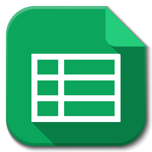 Google Sheets Icon Images