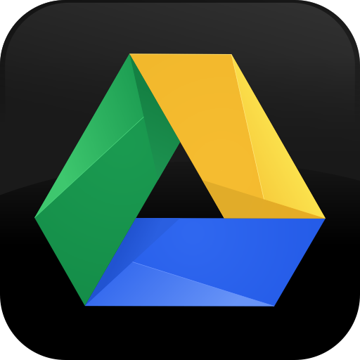 Google Drive Black Icon