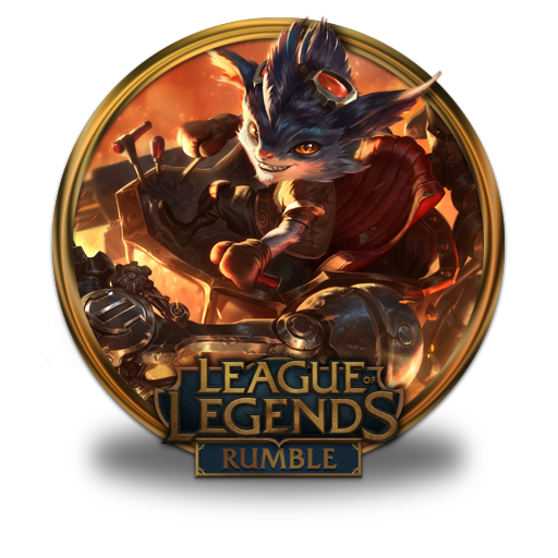 Rumble Icon League Of Legends Gold Border Iconset