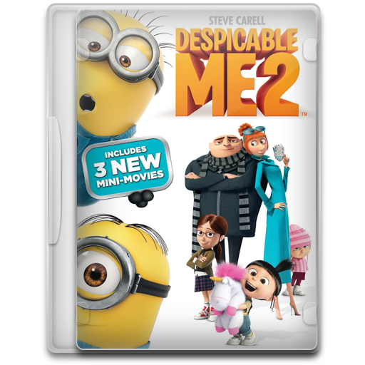 Despicable Me Icon Movie Mega Pack Iconset
