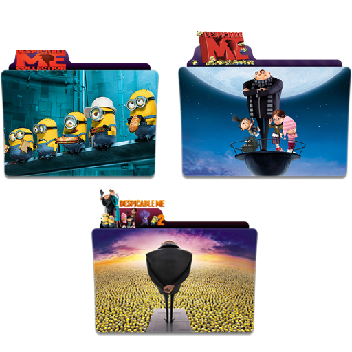 Despicable Me Folder Icon Pack