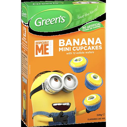 Green's Green's Despicable Me Banana Mini Cupcakes