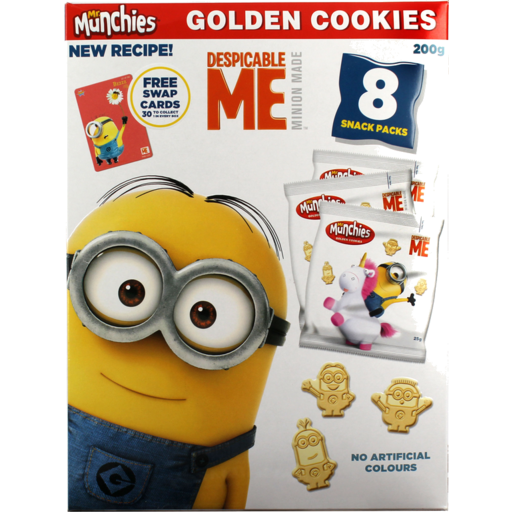 Mr Munchies Cookies Golden Despicable Me Pack