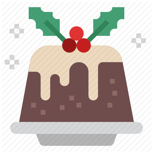 Cake, Christmas, Dessert, Pudding, Sweet, Sweets, Xmas Icon