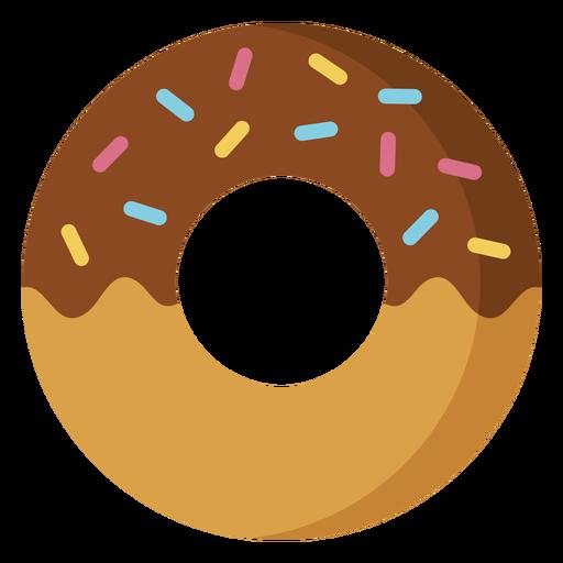 Chocolate Doughnut Icon Dessert Icon