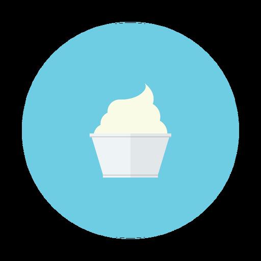 Cream, Stick, Ice, Dessert, Vanilla Icon