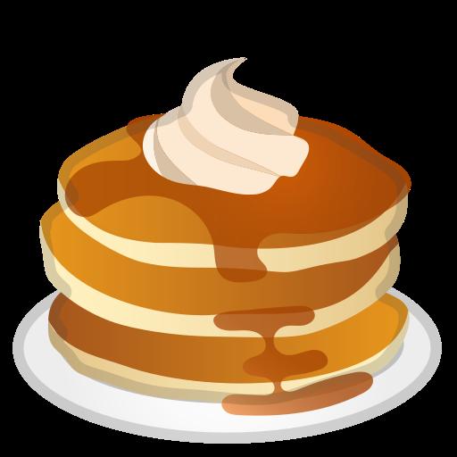 Pancakes, Food, Dessert Icon Free Of Noto Emoji Food Drink Icons