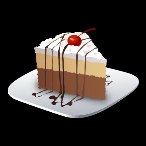 Recipe Dessert Cake Icon Recipes Iconset Lemon Liu