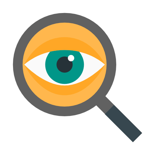 Detective, Eye, Search, Find, Locate Icon Free Of Cinema Icons