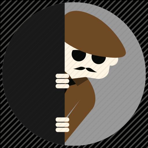 Detective, Investigation, Jobs, Mustache, Spying, Sunglasses Icon