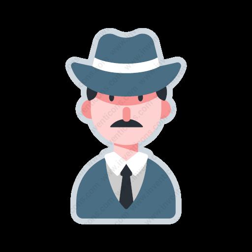 Download Avatar Detective,avatar,detective Icon Inventicons