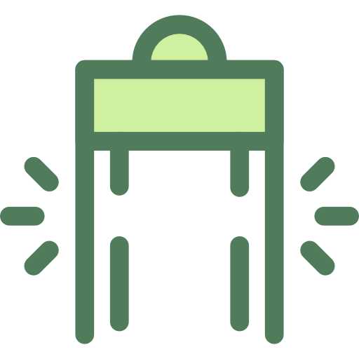 Security, Safety, Protection, Terrorism, Metal Detector Icon