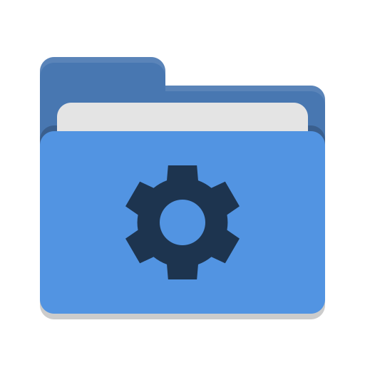 Folder Blue Development Icon Papirus Places Iconset Papirus