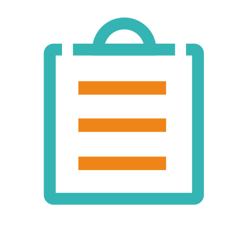 Diagnosis And Treatment Report Icon With Png And Vector Format