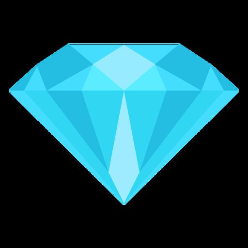 Diamond Gemstone Flat Icon