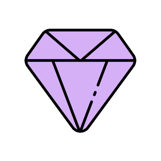 Diamonds, Simple, Diamond Icon With Png And Vector Format For Free
