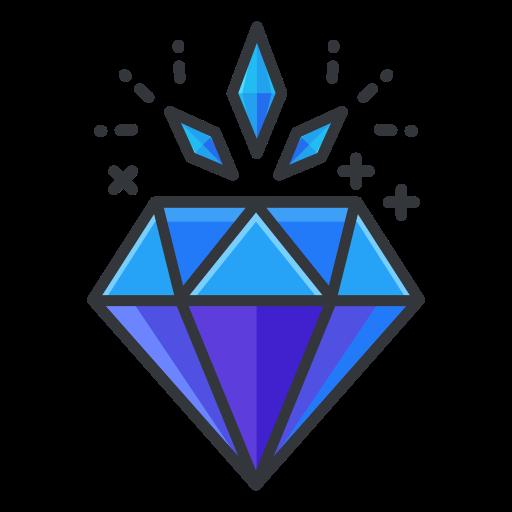 Diamond Icon Free Of Free Filled Outline