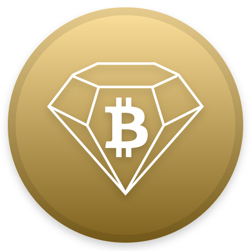 Bitcoin Diamond Icon Cryptocurrency Iconset Christopher Downer