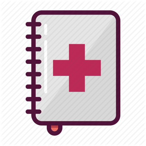 Book, Diary, Health, Healthcare, Journal, Medical, Notebook Icon