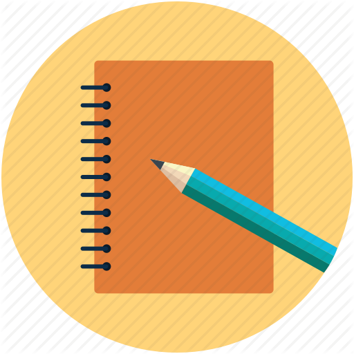 Copy And Pencil, Daily Work Diary, Log Book, Note Book, Notepad