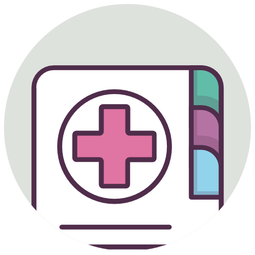 Medical, Diary, Phone Book Icon Free Of Medicine Icons
