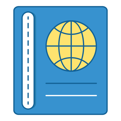 Travel, Holiday, Vacation, Passport, Book, Diary Icon Free Of Travel
