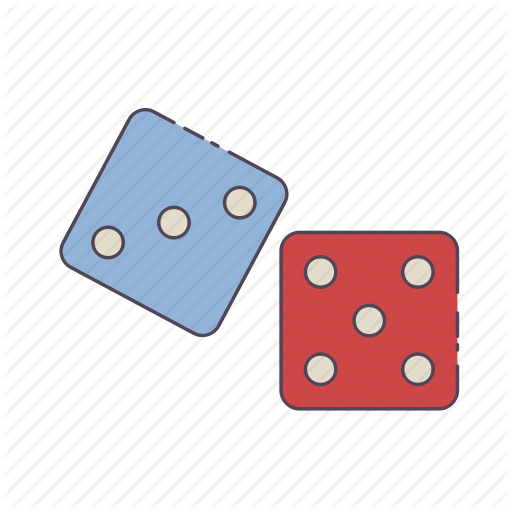 Casino, Luck, Play, Roll, Roll Dice Icon