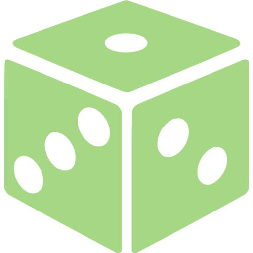 Guacamole Green Dice Icon