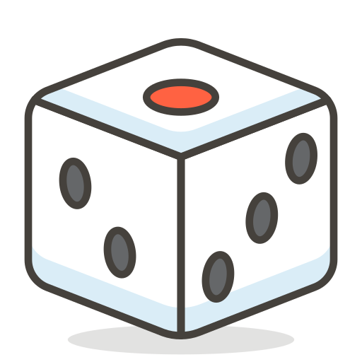 Game, Dice Icon Free Of Free Vector Emoji