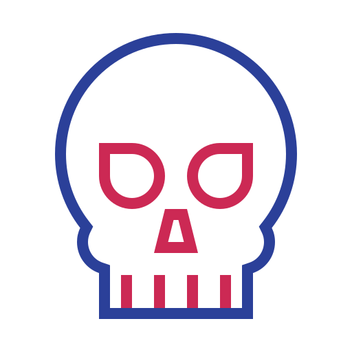 Die, Skull Icon Free Of Science And Fiction