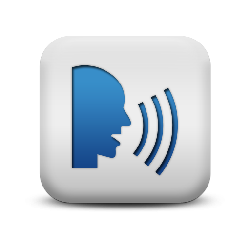 This Is The Speech Icon It Communicates To The Audience That Its