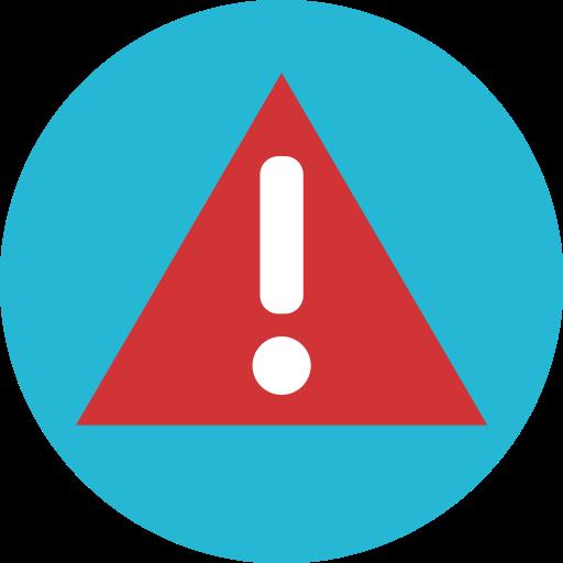 Alert, Attention, Error, Warining Icon