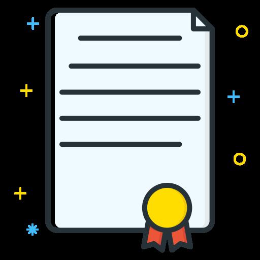 Certificate Icon Job Seeker Iconset Inipagi Studio