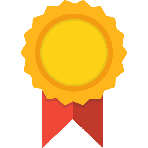 Certificate Medal Png Icon