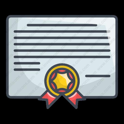 Download Diploma,education,certificate Icon Inventicons