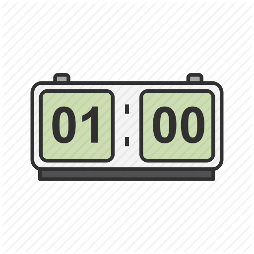 Alarm Clock, Clock, Digital Clock, Watch Icon