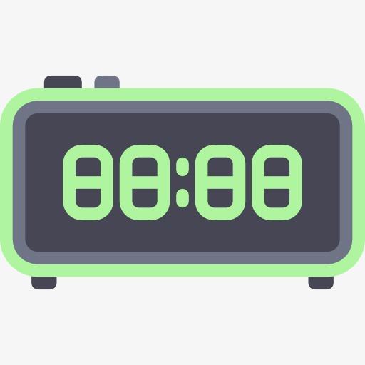 Blue Alarm Clock, Clock Clipart, Alarm Clock, Time Png Image
