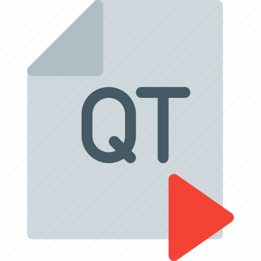 Content, Digital, File, Format, Media, Play, Quick Time Icon
