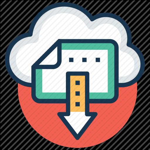 Digital Storage, Ebook, Ebook Download, Online Library, Sky Docs Icon