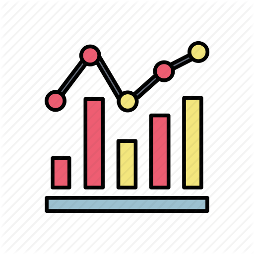 Bar, Chart, Digital, Graph, Marketing Icon