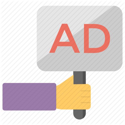 Ad Board, Advertising, Advertising Stand, Banners, Sign Board Icon