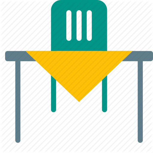 Chair, Dining, Diningroom, Furniture, Interior, Table, Tablecloth Icon