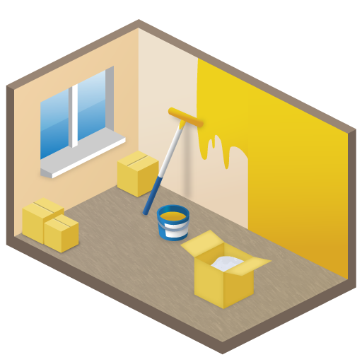 New Room Icon Large Home Iconset Aha Soft