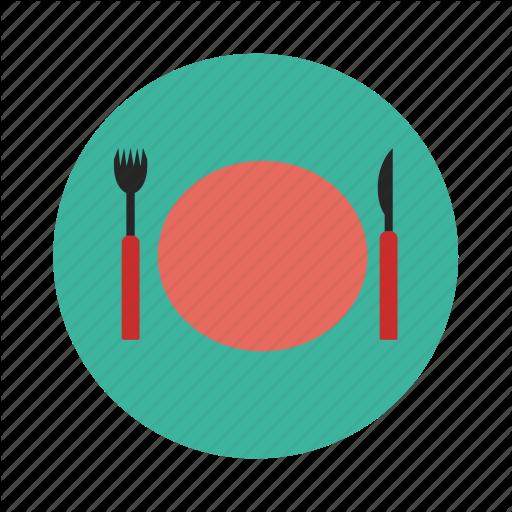 Dinner, Dinner Plate, Food, Meal, Restaurant Icon