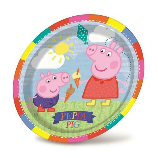 Peppa Pig Paper Party Dinner Plates X Ebay