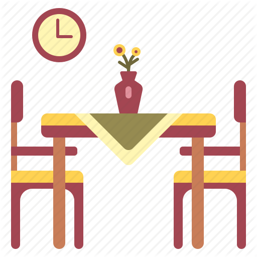 Decoration, Dining, Dinner, Furniture, Home, Interior, Table Icon
