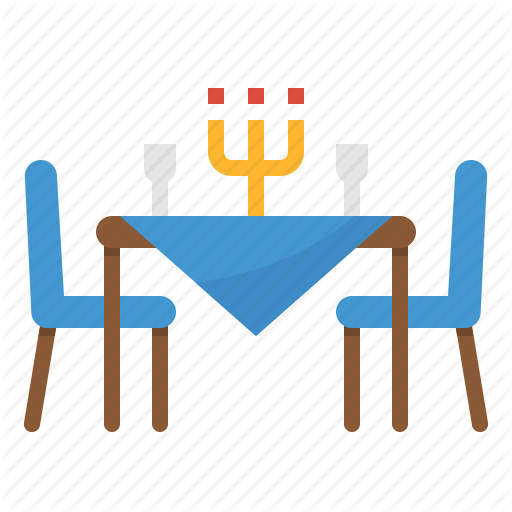 Dinner, Food, Restaurant, Table Icon