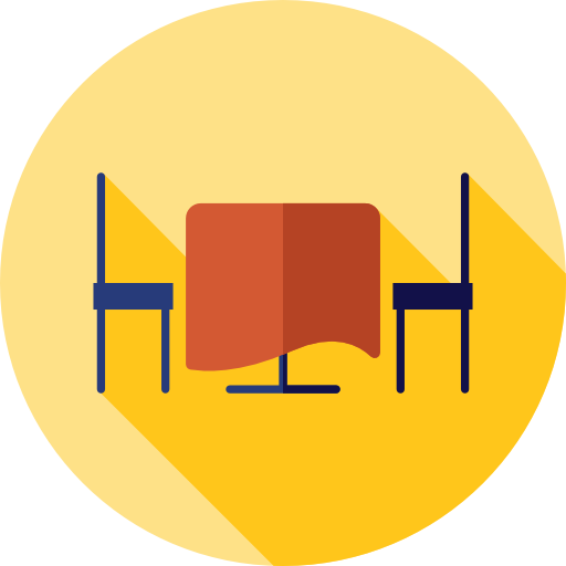 Food Table Flat Icon