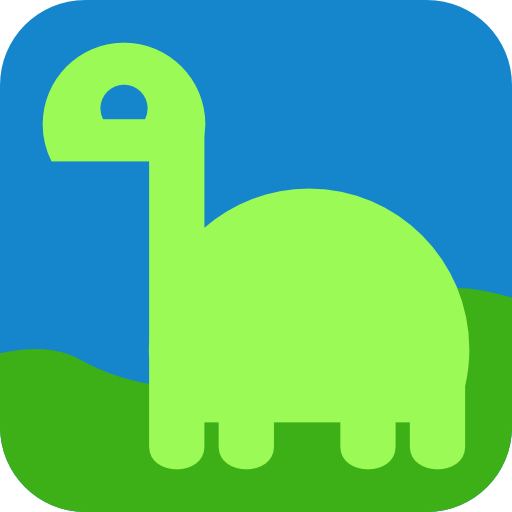 Light Dino Avatar Icon Clipart