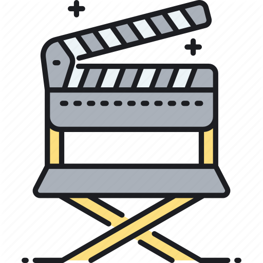 Chair, Director Chair, Producer Chair Icon